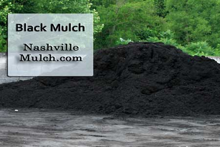 Black Hardwood Mulch Choice