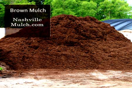 Brown Hardwood Mulch Choice